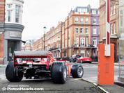 Ferrari F2001 on the road