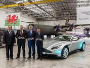 Aston Martin officially in Wales