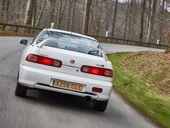 On the right road the Integra is incredible