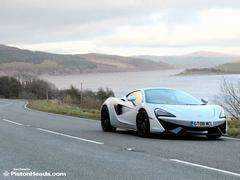 What's better than a McLaren in Wales?