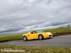On the road the Elise remains lovely...