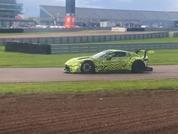 New Aston Martin Vantage GTE spied testing