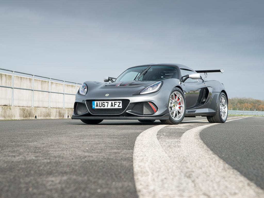 The Exige gets serious; really serious