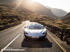 Shock: McLaren supercar great to drive in Wales