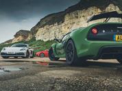 Exige 410 v. Cayman GTS v. TT RS: Pic of the Week