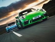 GT3 RS v. Exige Sport 410: Pic of the Week