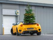 Lotus wishes fans a Merry Driftmas