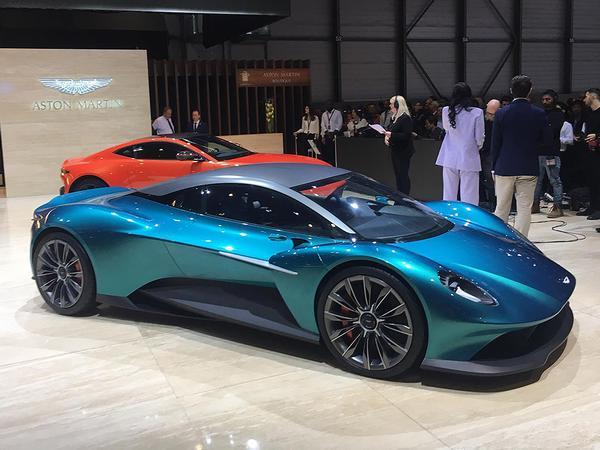 Aston Martin Vanquish Vision Concept Geneva 2019 Pistonheads Uk