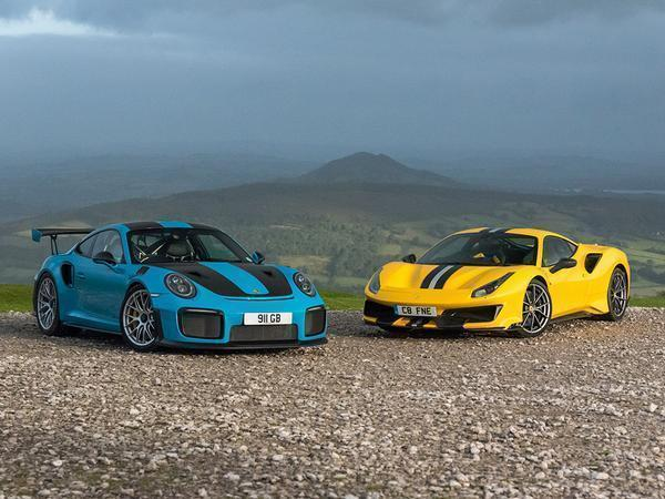 Ferrari 488 Pista Vs Porsche 911 Gt2 Rs Pistonheads Uk