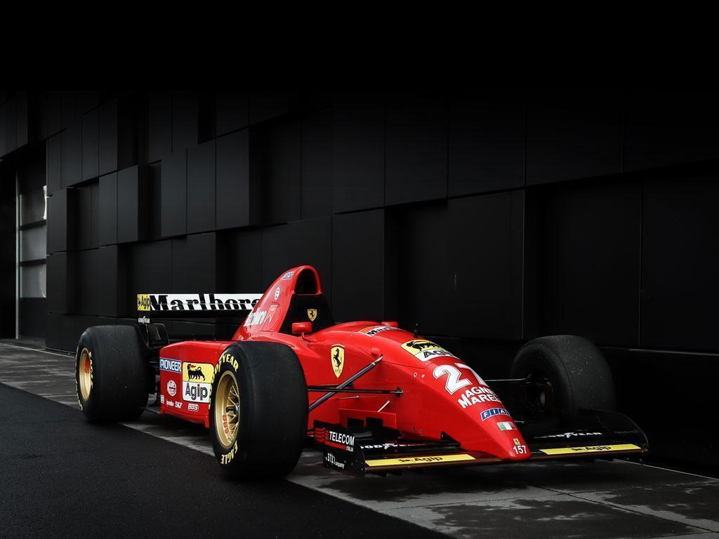Michael Schumacher S Ferrari 412 T2 Up For Sale Pistonheads Uk