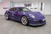 60-mile Ultraviolet 911 GT3 RS for sale