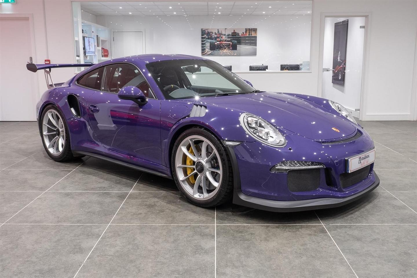 60 Mile Ultraviolet 911 Gt3 Rs For Sale Pistonheads Uk