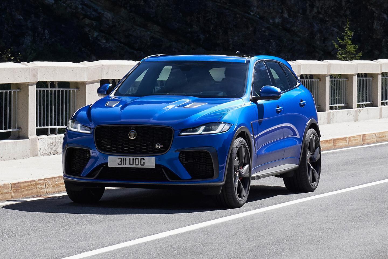 Jaguar F Pace Svr Refreshed For 2021 Pistonheads Uk